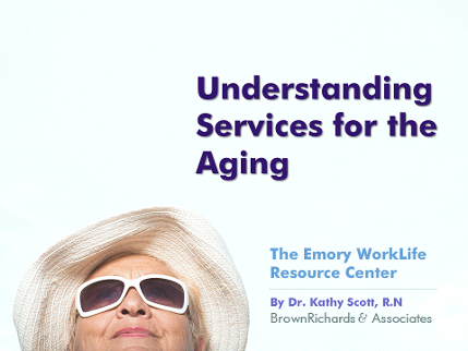 Understanding Services for the Aging