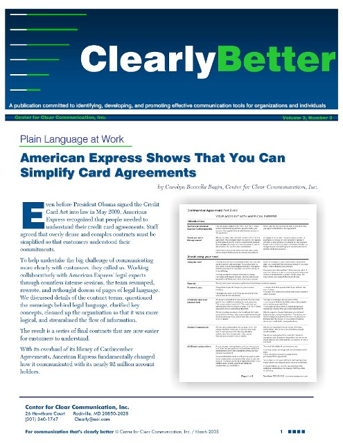 American Express Article