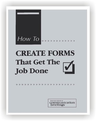 How to Create Forms that Get the Job Done